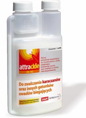 Attracide 26 SC - Karaczany oraz inne gatunki owadów biegających, Karaczany, Karaluchy, Gliwice, Śląsk